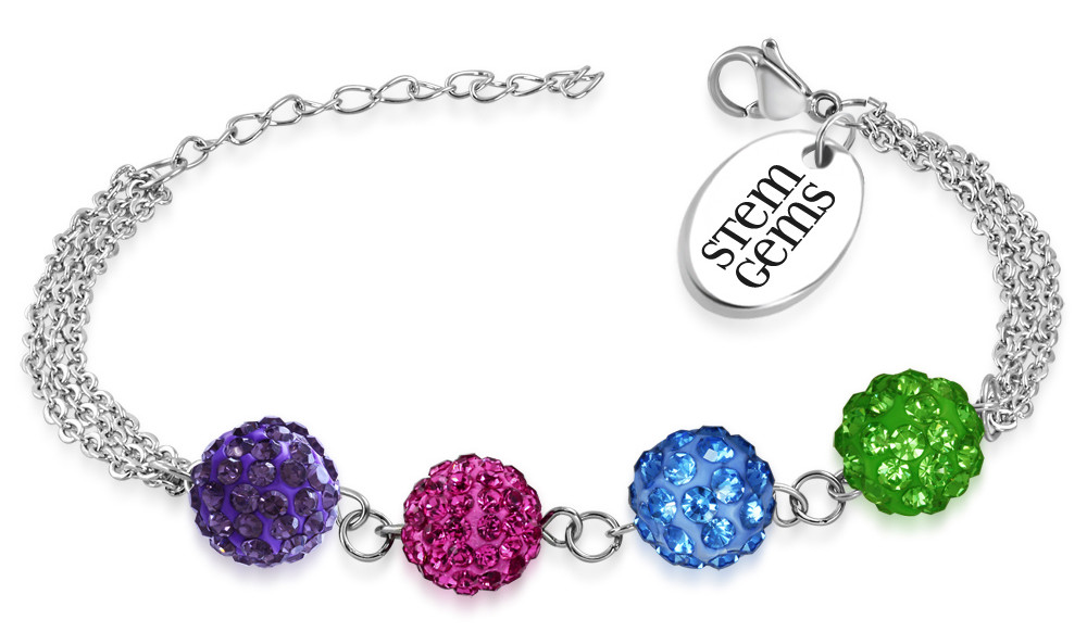 The Stem Gems Empowerment Bracelet A Symbol Of Confidence Courage